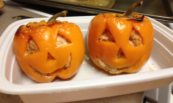 HAlloween Peppers