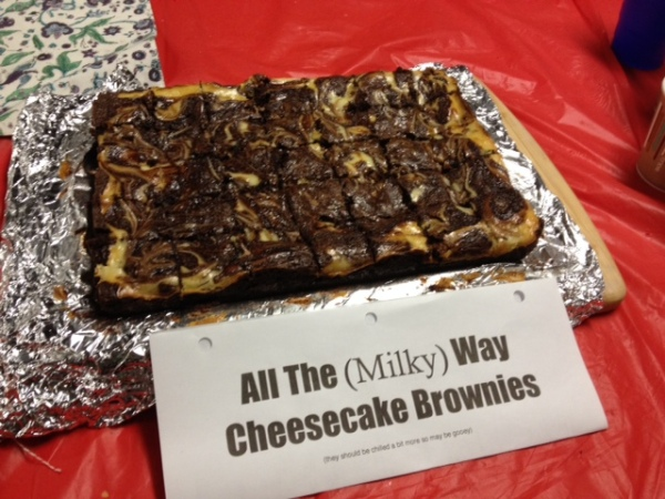 All the (Milky) Way Brownies 1