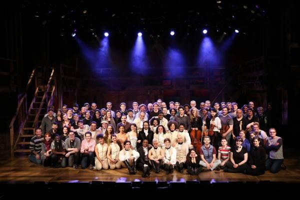 The Cast and Crew of Hamilton