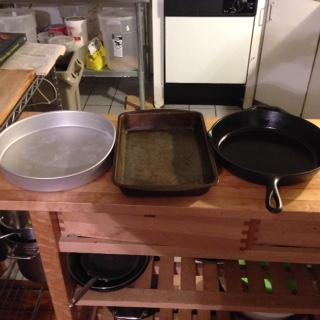 pans for cornbread