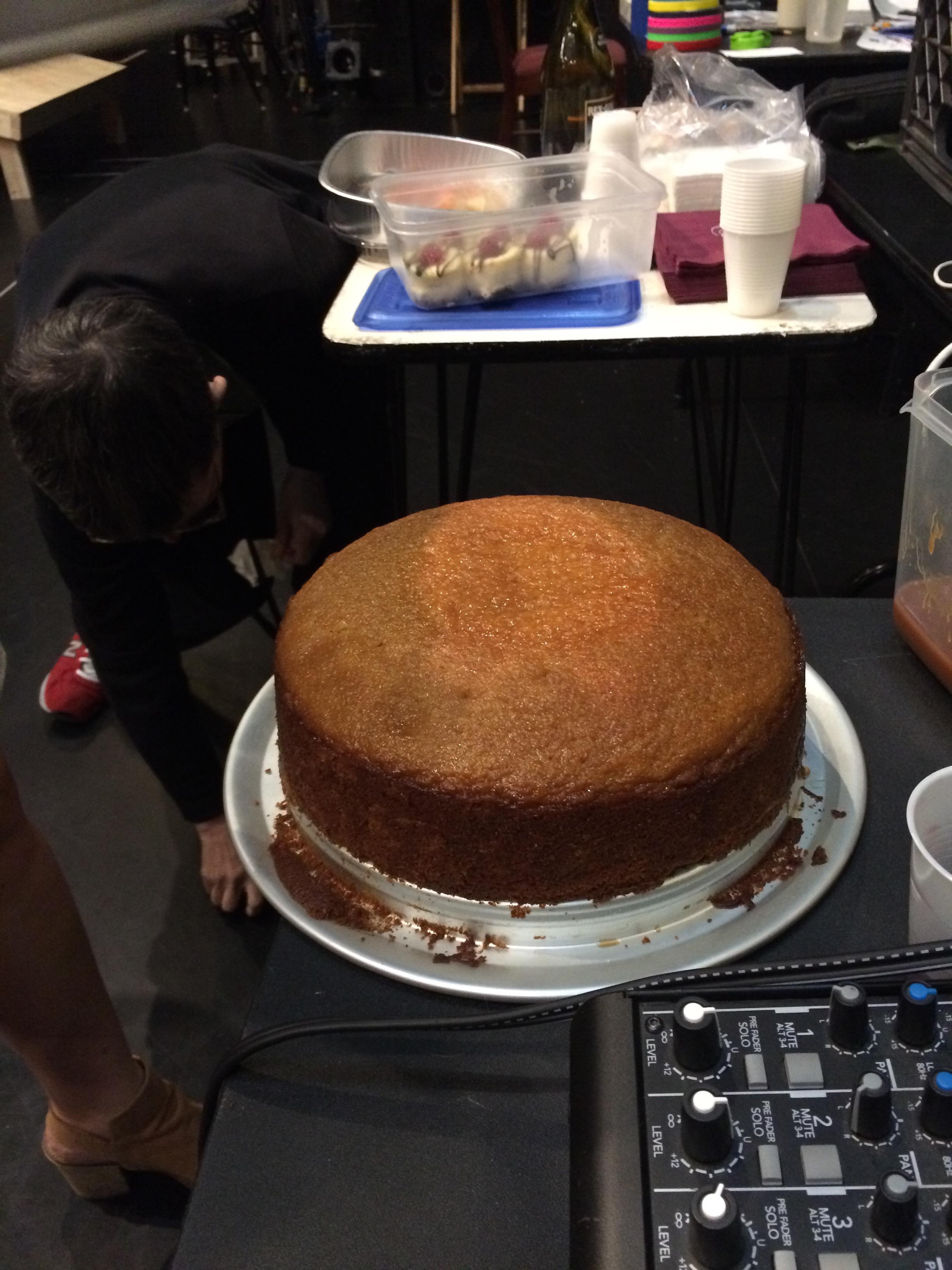 Golden Syrup Cake The Backstage Baker