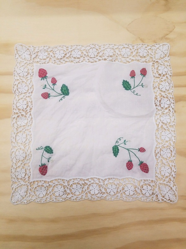 Strawberry Hankie